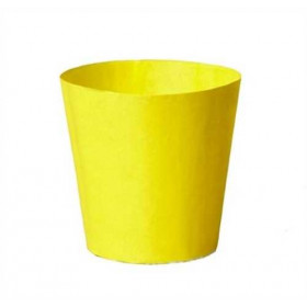Illu-Becher Papier gelb