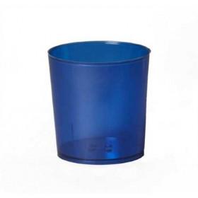 Illu-Becher Plastik blau