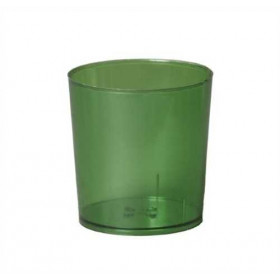 Illu-Becher Plastik grün