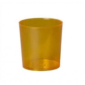 Illu-Becher Plastik orange