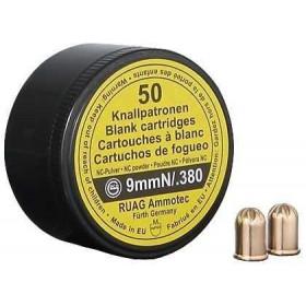 Platzpatronen 9mm Geco Revolver NC 50er Dose (Karton=100 Dosen)